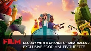 Cloudy With A Chance Of Meatballs 2: Foodimal Featurette