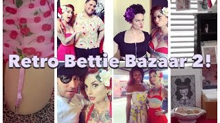 Retro Bettie Bazaar! Vintage Pinup Day Out with CHERRY DOLLFACE Thumbnail