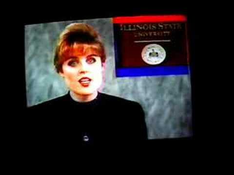 KGTV's Lauren Reynolds at WHOI - Jan. 1995