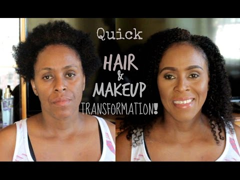 Hair & Makeup Transformation! | Quick Makeover on My Mommy!