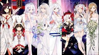 Azur Lane All Oath Skins (Wedding Costumes)