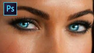 Adobe Photoshop CS6 : [ Beginners Tutorial ] - How To Change Eye Color
