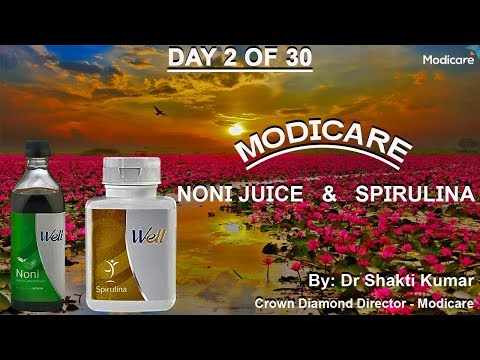 Day 2 | Modicare Noni Juice and  Spirulina | 8360703646 | Network Marketing | 30 Days Workshop