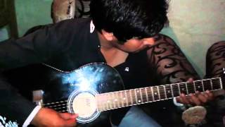 tujhe dakha to ye jana sanam guitar tab by sumit sam