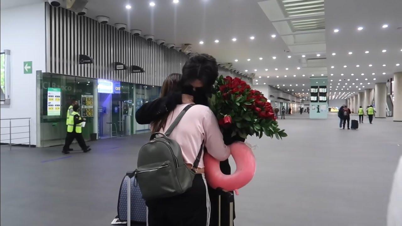 Sorprendo a mi Hermanita En El Aeropuerto Despues De Un Año Sin Verla  | JeanCarloLeon | Vlog 26