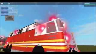 [Roblox] Fire Fighter Parade