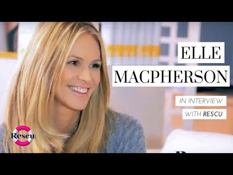 Elle Macpherson Australian Super Model Shares Beauty and Body Secrets Video