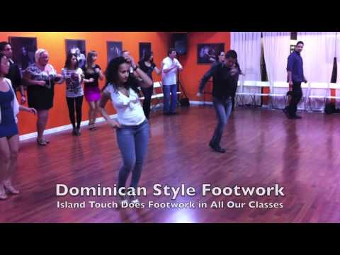 Dominican Touch: Dominican Bachata Footwork combined with Island Touch Bachata Partnerwork