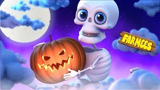 Halloween Night  Halloween Rhymes For Babies  Videos For Kids by Farmees