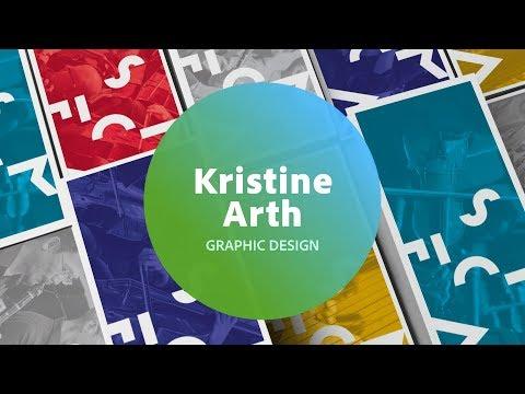 Live Graphic Design, Branding & Identity with Kristine Arth - 3 of 3