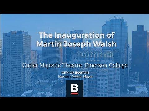 The Inauguration of Martin Joseph Walsh