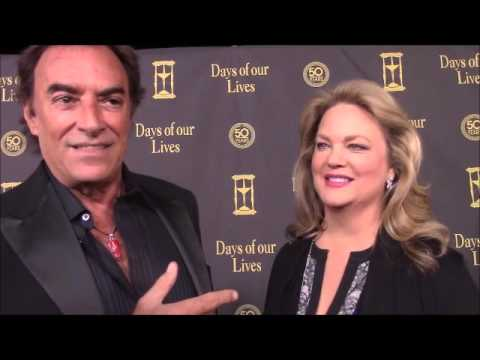 Days of our Lives Anniversary s: Thaao Penghlis and Leanne Hunley
