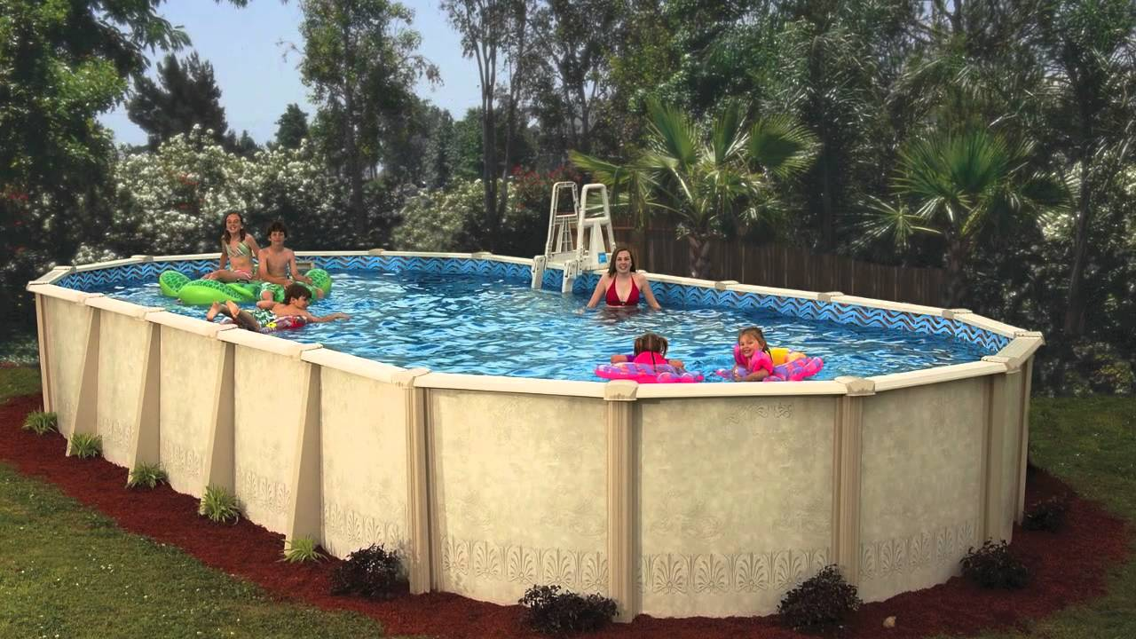 Benefits of a Doughboy Pool - YouTube