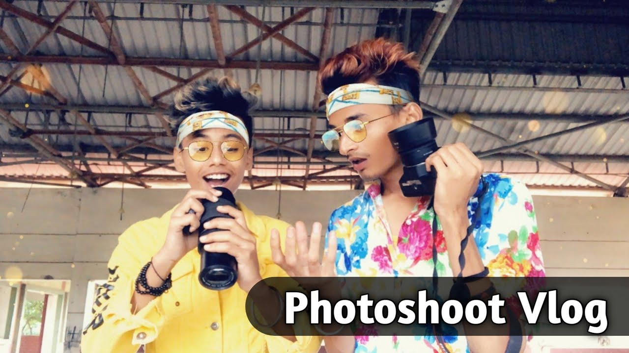Photoshoot Vlog - Boys Styles Pose | Best Boys Pose Hindi 2020 | Outdoor Photoshoot Vlog | Debjit07