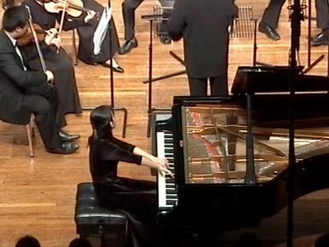 Mozart Piano Concerto K. 488 by Cecilia, I-ian Long