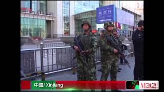 習近平訪新疆  烏魯木齊車站驚爆 2014-05-04