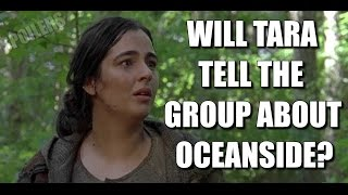 The Walking Dead Season 7 Spoilers Will Tara Tell The Group About Oceanside? TWD 715 Spoilers