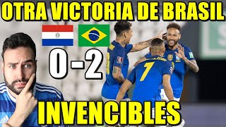 BRASIL es INVENCIBLE y GANA 0-2 a PARAGUAY que LUCHÓ - GOL y ASISTENCIA de NEYMAR JR - ANÁLISIS