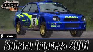 DiRT Rally [Early Access]: Subaru Impreza 2001   Flying Finland Gameplay (Kotajarvi) [60 FPS]