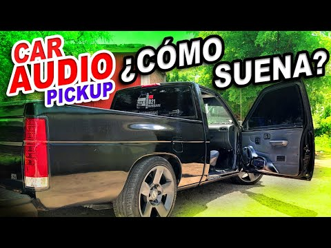 CAR AUDIO PICKUP / EQUIPO De SONIDO En NISSAN HARDBODY D21