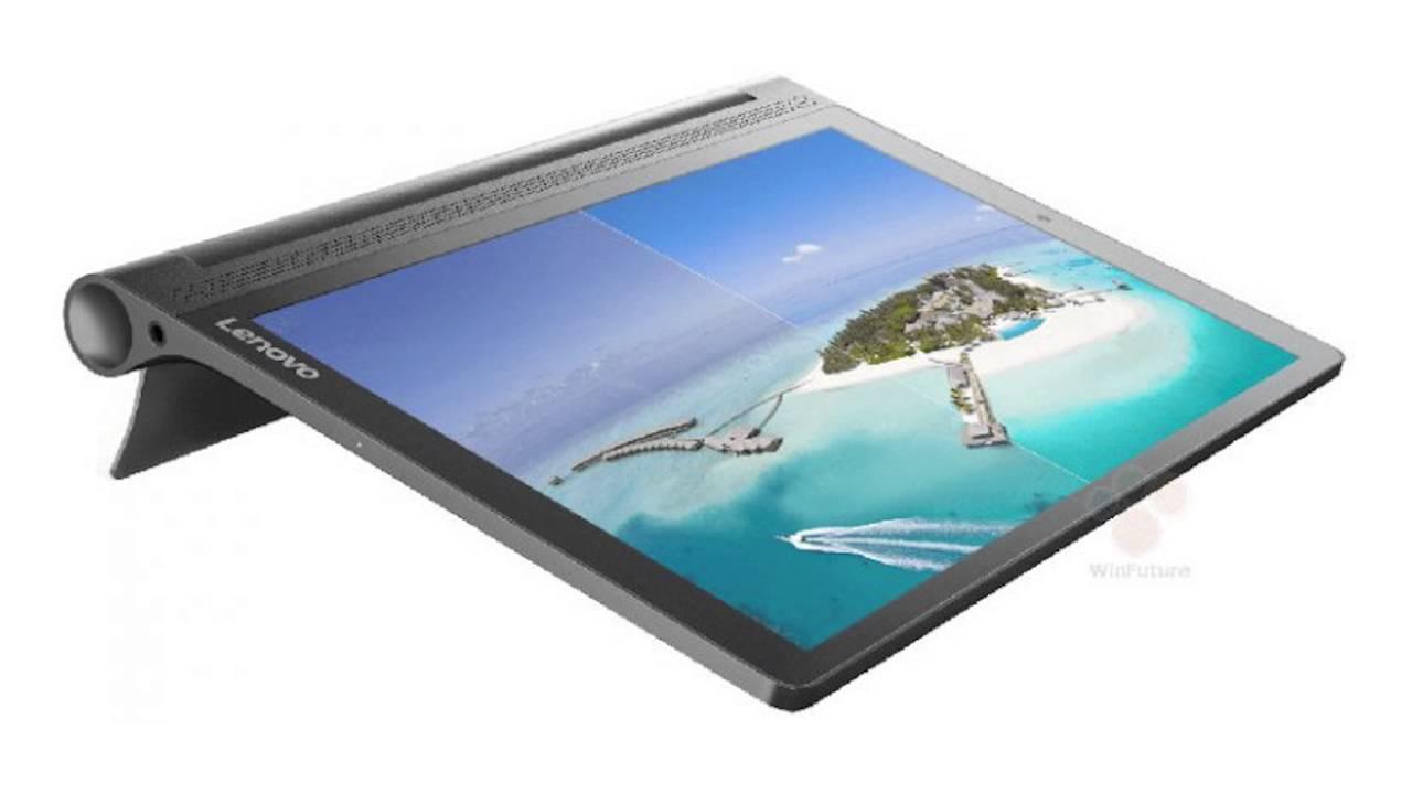 Lenovo Yoga Tab 3 Plus 10 with Quad HD display, 4G LTE, 9300mAh battery  surfaces