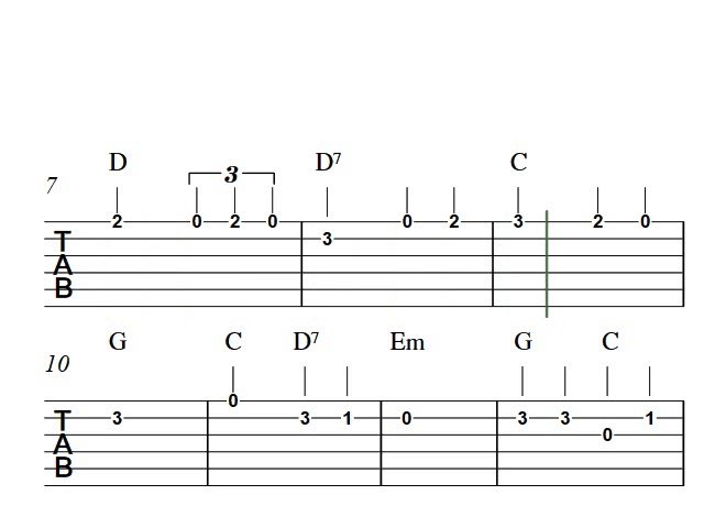 Guitar tab | How to play We Shall Overcome Chords - Chordify