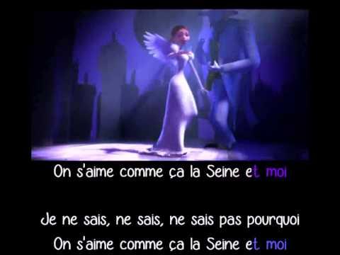 Vanessa Paradis Et M - La Seine - Karaoké
