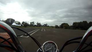 Motorcycle P's Test Stay Upright Geelong