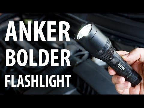 Review: Anker Bolder LC90 900 Lumens LED Flashlight