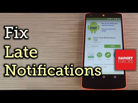 Fix Notification Delay Issues on Android [How-To] - YouTube