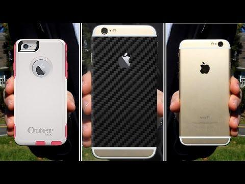 Skins vs. Cases! (iPhone 6)