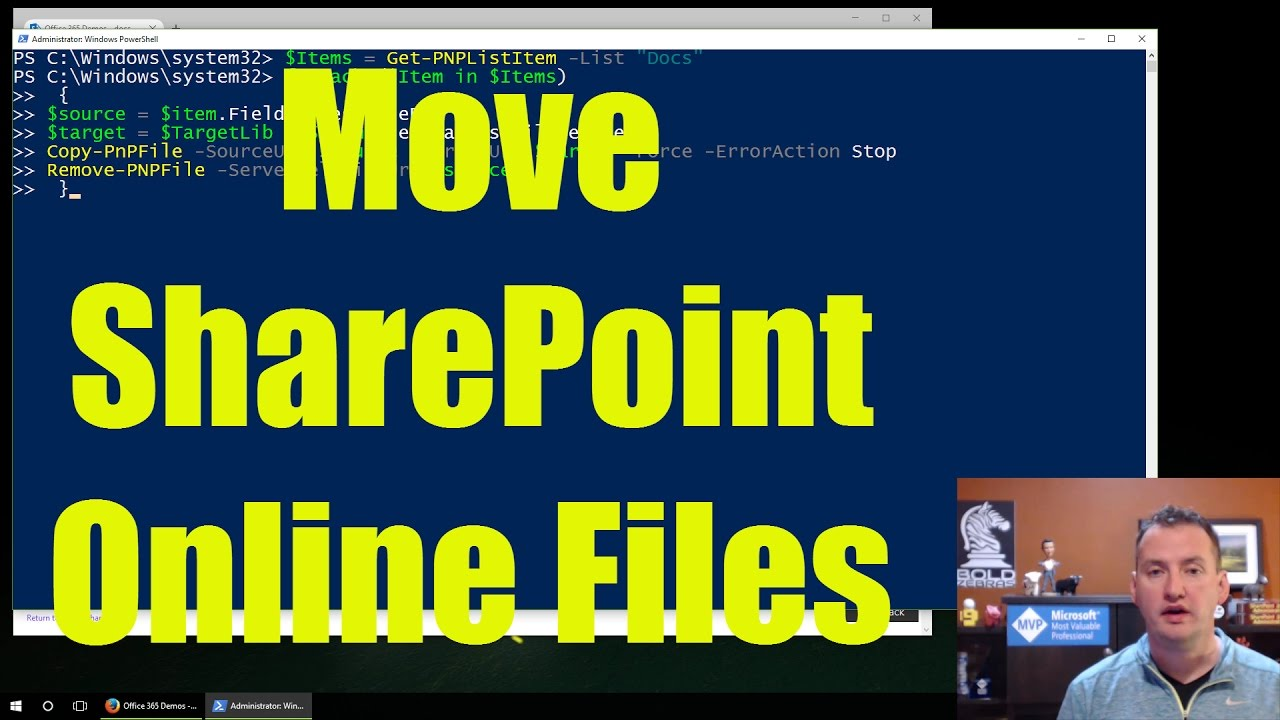 Move SharePoint Online Files with PowerShell