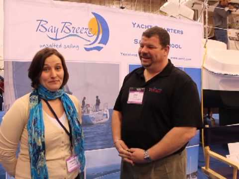 2013 Chicago Strictly Sail Boat Show - Bay Breeze Yacht Charters