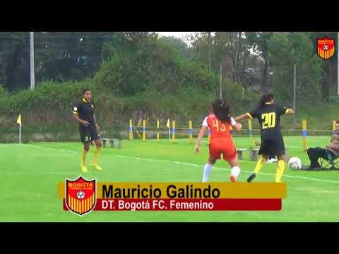 AMISTOSO: Bogotá F.C. gano a Gol Star - Fútbol Femenino