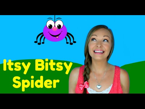 Thumbnail: Itsy Bitsy Spider Song - Nursery Rhymes for Children, Kids and Toddlers