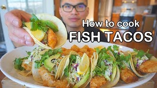 How to cook CRISPY FISH TACOS
