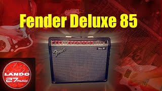 Fender Deluxe 85 - Red Knob retro amp demo/review