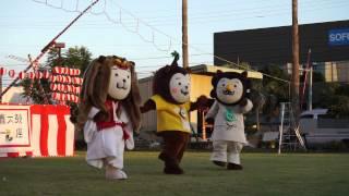 [ みやざき犬 ]20150821_皇寿園・明星園合同夏祭り_ゆるゆるみやざきポップ