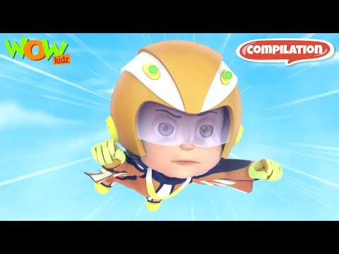 Vir: The Robot Boy #4 - 3D action compilation for kids - As seen on Hungama TV