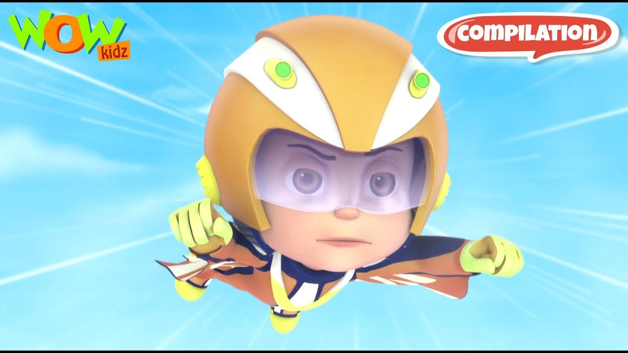 Download Vir: The Robot Boy #4 - 3D ACTION compilation for kids - As seen on Hungama TV