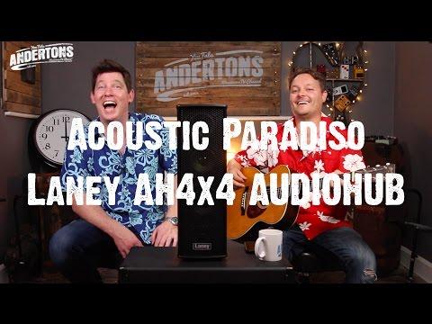 Acoustic Paradiso - Laney Audiohub Freestyle 4x4 - Pete & Mick Go Busking. At The Pub…