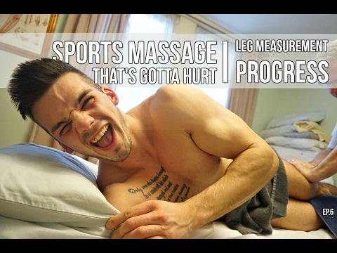 Day In The Life : First Sports Massage | Road To Bigger Legs Updates