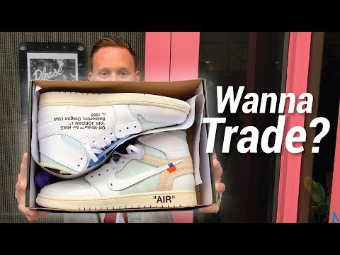 Trading My EU OFF WHITE Air Jordan 1s! Sneaker Shopping in NYC