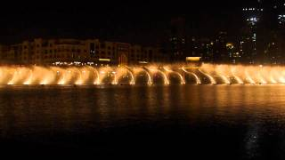 Dubai fountain- a spanish song