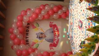 best thematic birthday planner balloons decoration services in lahore pakistan