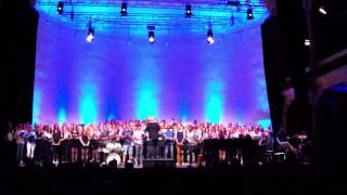 Kooruitvoering Vrije School Zutphen 23 april 2015 U2 - One