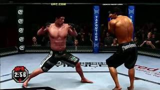 UFC Undisputed 2010 PlayStation 3 Gameplay - Its All Over