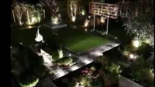 Ландшафтное освещение. Освещение дома. Дизайн освещение.(Студия светодизайна