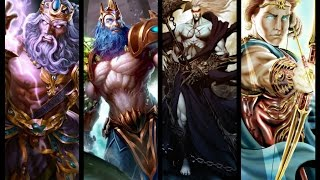 El poder de los héroes y dioses de la mitología griega