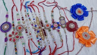 DIY handmade rakhi for brother.... Happy Rakshabandhan../Reshma's Craft Zone
